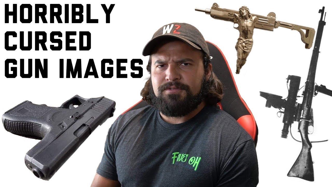 Чудовищно проклятые изображения оружия // Brandon Herrera на Русском Языке.