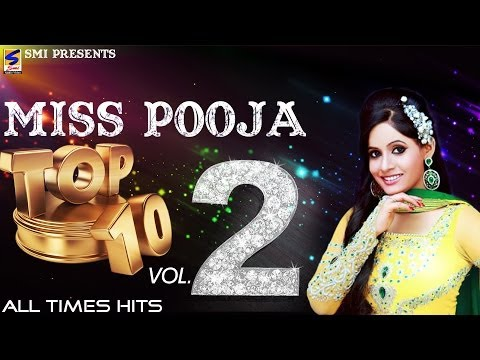 Miss Pooja Top 10 All Times Hits Vol 2 | Non-Stop HD Video | Punjabi New hit Song -2016