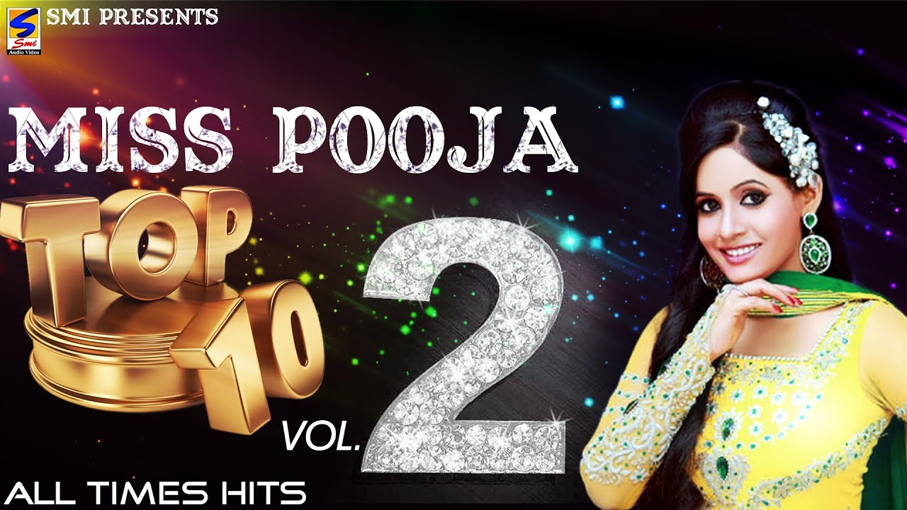Miss Pooja Top 10 All Times Hits Vol 2 Non Stop Hd Video