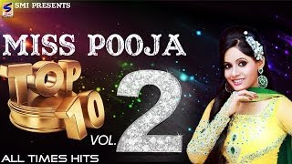 Miss Pooja Top 10 All Times Hits Vol 2 | Non-Stop HD Video | Punjabi New hit Song -2014