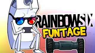 Rainbow Six Siege FUNTAGE! - Mannequin Challenege, Rook Armor & MORE! (Funny Moments)