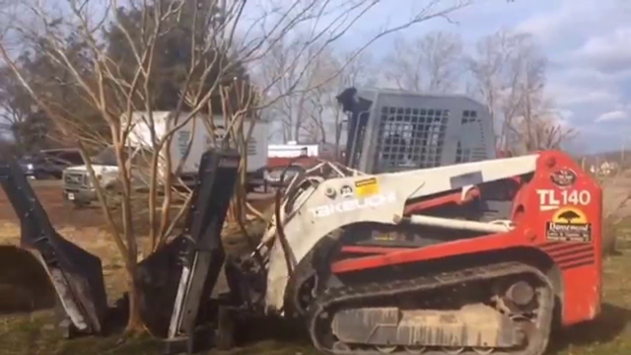 Incroyable Tree Spade Operation. Nansemond Lawn And Garden