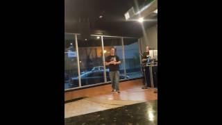"Karaoke singer slays Journey 's "" Faithfully """