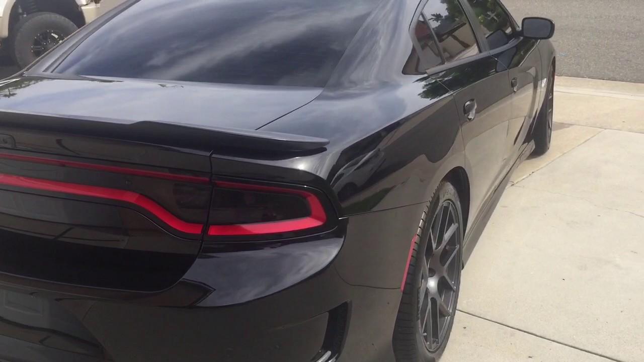2016 Dodge Charger Pack Black
