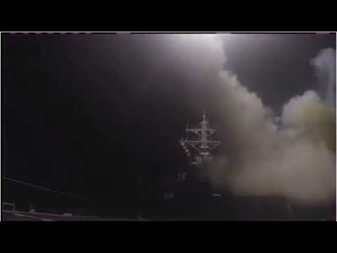 Syria War: US Launches Missile Strikes In Response To Chemical 'Attack'