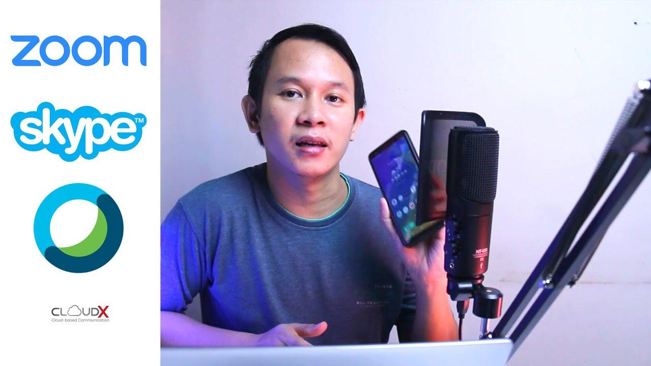 Cara Menjadikan Hp Sebagai Webcam Di Laptop Untuk Digunakan Di Aplikasi Video Conference Youtube