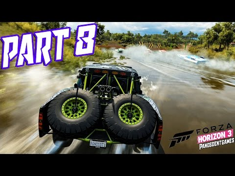 TRUCK VS MOTORBOATS | Forza Horizon 3 Part 8 Full Game