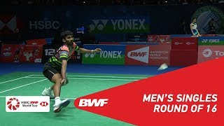 R16 | MS | KIDAMBI Srikanth (IND) [7] vs Jonatan CHRISTIE (INA) | BWF 2019