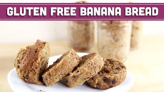 Healthy Banana Bread In A Jar! - Gluten Free - Mind Over Munch