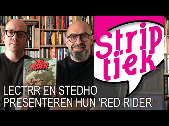 Lectrr en Stedho presenteren hun 'Red Rider' (dubbel-interview)