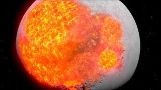10 фактов о Луне - Фантастические факты - Луна загадки и тайны