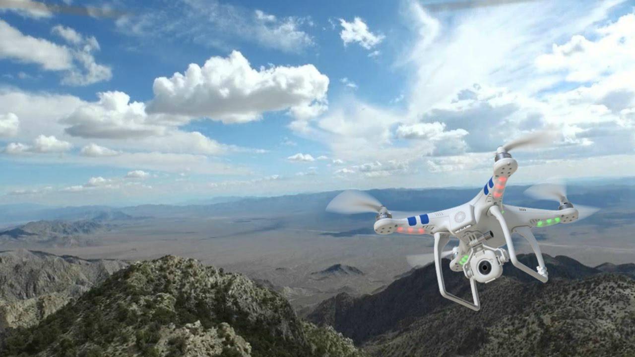 Area 51 (Base) Drone Footage Filmed from Tikaboo Peak (No ...