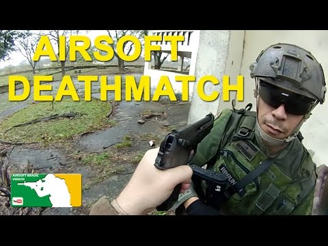 Airsoft Brasil Videos - Airsoft Deathmatch (vídeo tático)