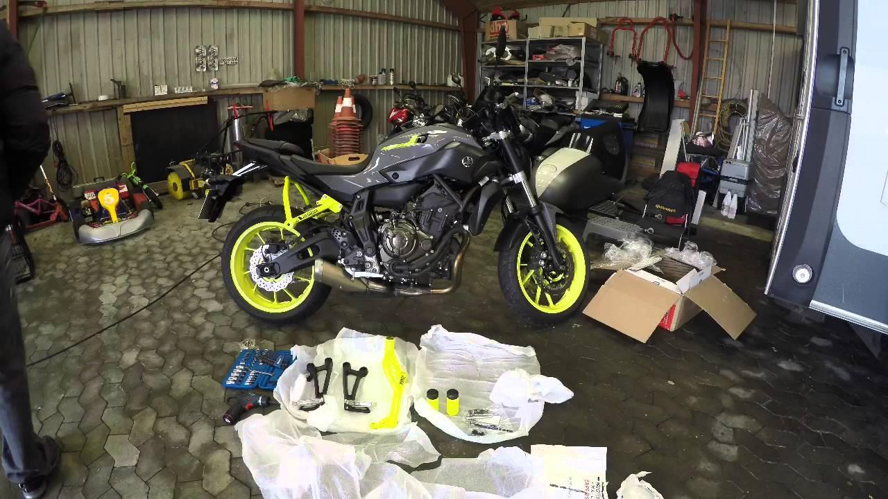 Yamaha Fz Crash Cage