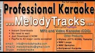 Paan khaye saiyan hamaro - Asha KarAoke - www.MelodyTracks.com
