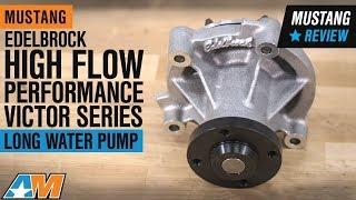 1996-2010 Mustang GT & Cobra Edelbrock High Flow Performance Victor Series Long Water Pump Review