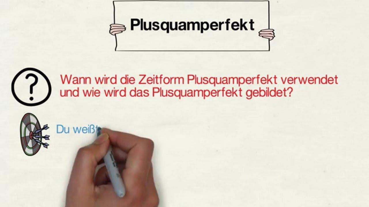 Das Plusquamperfekt - YouTube