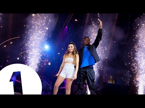 Not3s feat. Mabel - My Lover (Radio 1's Teen Awards 2018) | FLASHING IMAGES