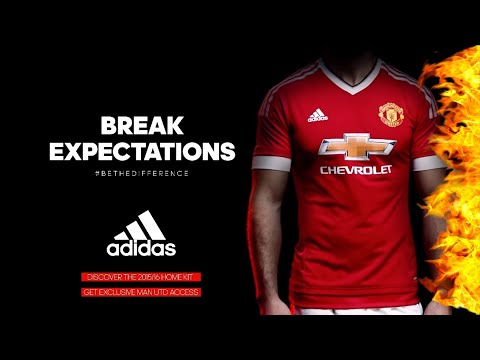Manchester United – The New Adidas Home Kit 2015/16