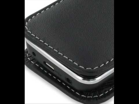 PDair Leather Case for Nokia 6730 Classic - Vertical Pouch Type (Black)