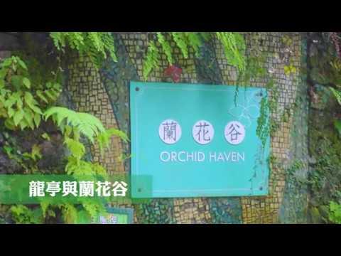 龍亭與蘭花谷 The Dragon Pavilion & Orchid Haven