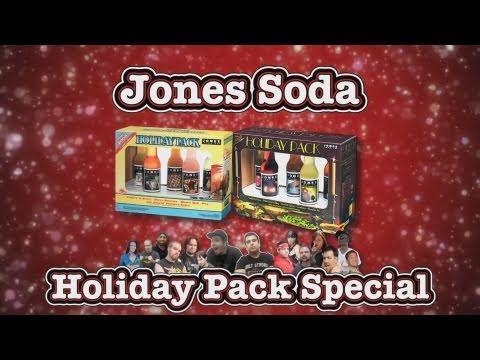Jones Soda Holiday Pack Special - Seattle Seahawks & Chanukah 07 Packs