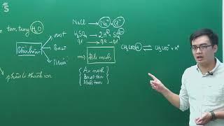 Sự điện ly - Hóa lớp 11- Thầy giáo Phạm Thanh Tùng