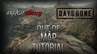 OUT OF MAP GLITCHES, BIKE GLITCHES & DEV TEST AREA | Days Gone | Tutorial