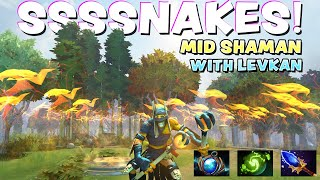 SSSNAKES!! - MID SHAMAN WITH LEVKAN