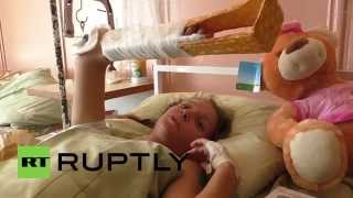 Ukraine: Shelling attack leaves teen girl suffering shrapnel wounds