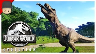 Jurassic World Evolution - T-REX ESCAPED! : Ep.05 (Jurrassic World Evolution Gameplay)