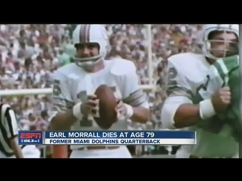 Former Dolphins QB Earl Morrall dies at 79