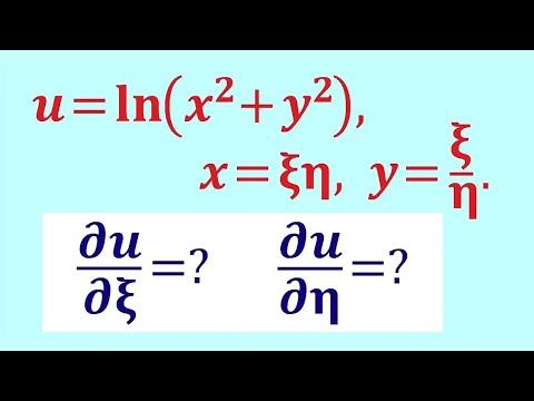 Производная сложной функции нескольких переменных #4