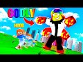 I became a GODLY TITAN and took over THE WORLD.. (Roblox)