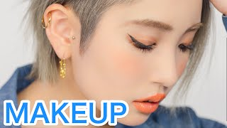 connectYoutube - Latest Japanese MAKEUP TREND TUTORIAL by Kawaii model Marin Matsuzaki | 松崎茉鈴のトレンドギャルメイク講座