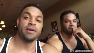 full day of eating   leg workout   vlog 2   hodgetwins