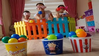 Elif Öykü and Masal Toys Basketball pretend play funny for kids video
