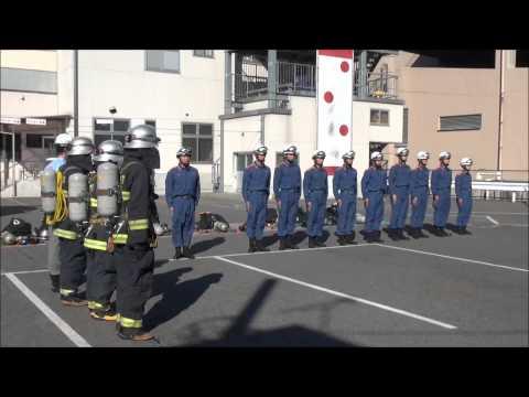 Jレスキュー2013年5月号 P44 渋川消防・新人1ヶ月集中訓練