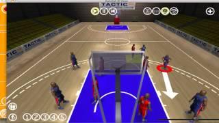 Basketball 3D Block Example