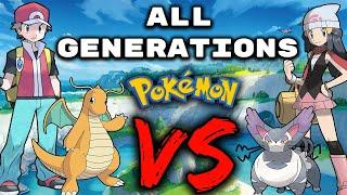 We Catch ONE POKËMON from EACH GENERATION...THEN WE FIGHT! Pokemon Sword