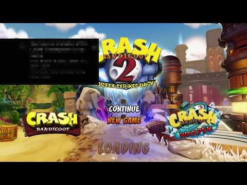 Crash bandicoot N-Sane trilogy gameplay online  walkthrough ps4 ultra hard how to beat ? PART 5