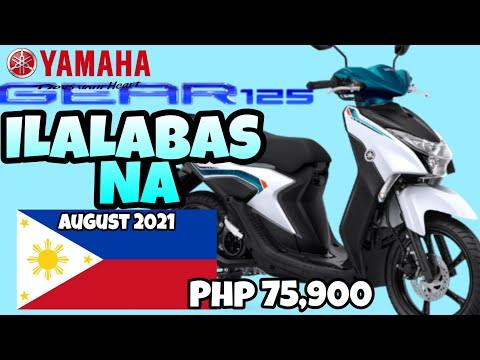Download 2021 All New Yamaha Mio GEAR 125 - Ilabas na ngyon AUGUST 2021, Presyo : 75,900 S-79,900, Color