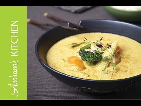 Vegetarian Thai Green Curry Recipe by Archana's Kitchen