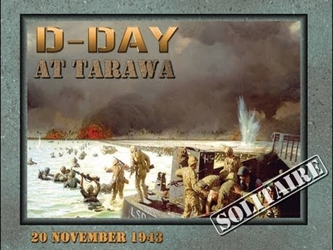 47.1.- D-day at Tarawa (Decision Games): Componentes.