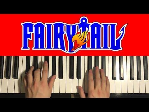 Fairy Tail - Main Theme (Piano Tutorial Lesson)