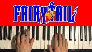 Fairy Tail Main Theme Piano Tutorial Lesson.mp3