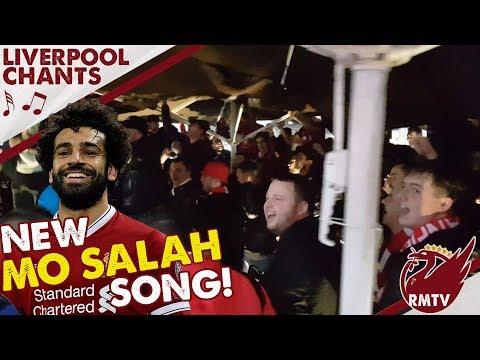 New Mo Salah Song! | Porto v Liverpool | LFC Chants