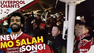 New Mo Salah Song! | Porto v Liverpool | LFC Chants