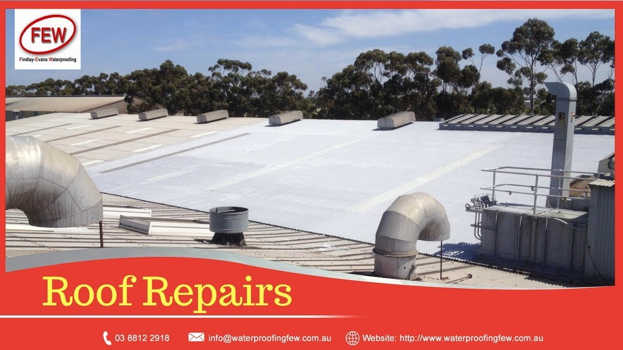 Waterproofing Membrane Leaking Metal Roof Melbourne