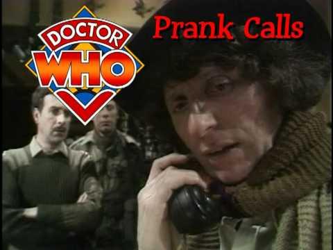 Doctor Who Calls Peter Davison